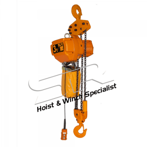 Single Speed 3 Ton Chain Hoist (10 Mtrs)
