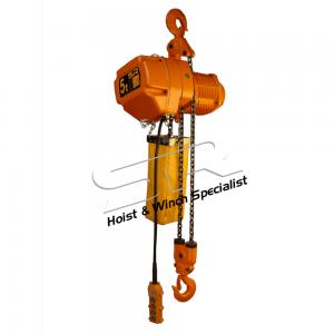 Single Speed 5 Ton Chain Hoist (10 Mtrs)