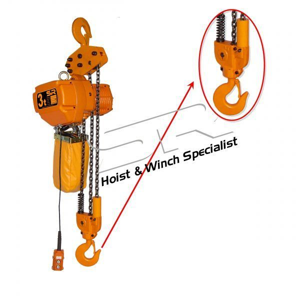 SR Lower Hook (For 3 Ton Chain Hoist)