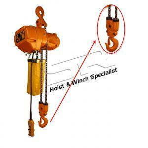 SR Lower Hook (For 5 Ton Chain Hoist)