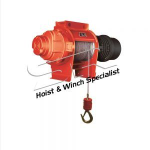 SR 3 Ton Electric Winch 95 mtrs(3 Phase)
