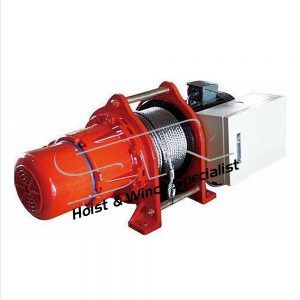 SR 5 Ton Electric Winch 195 mtrs(3 Phase)