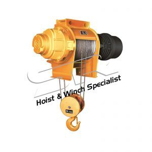 SR 5 Ton S-Series Mono-Rope Fixed Hoist (12m)