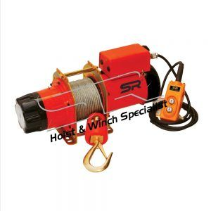 SR 500kg Electric Winch 48 mtrs(Single Phase)