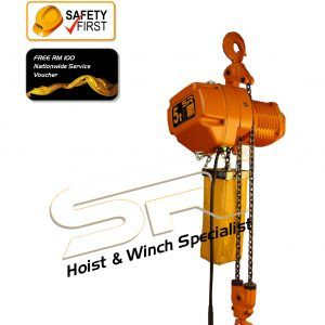 Single Speed 5 Ton Chain Hoist (5 Mtrs)