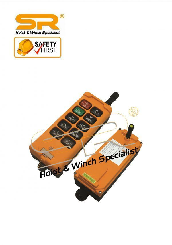 8 Button Single Speed Wireless Remote Control