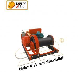 SR 20 Ton Electric Winch 95mtrs (3 Phase)