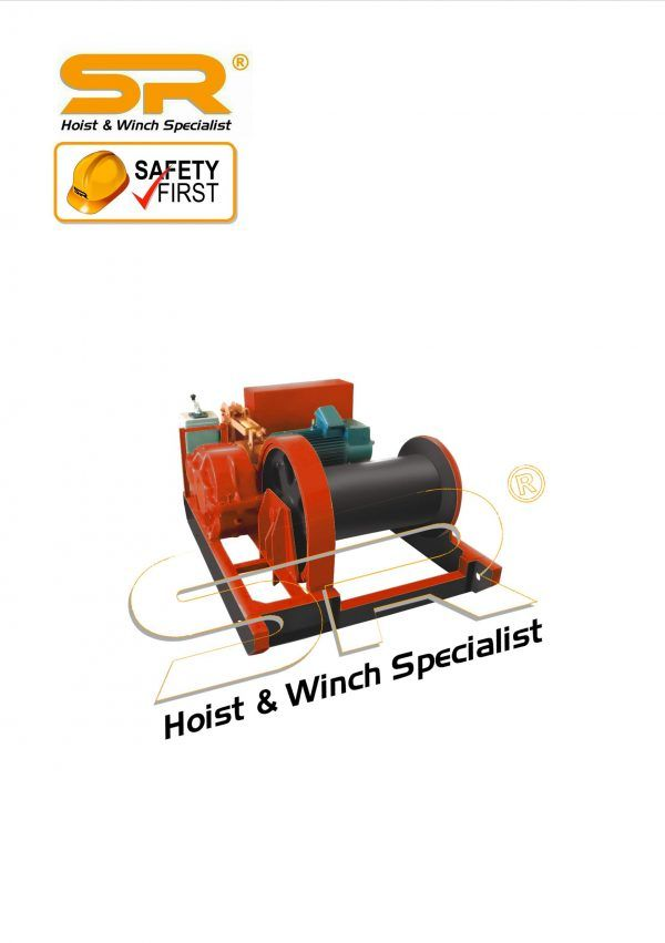 SR 30 Ton Electric Winch 195 mtrs(3 Phase)
